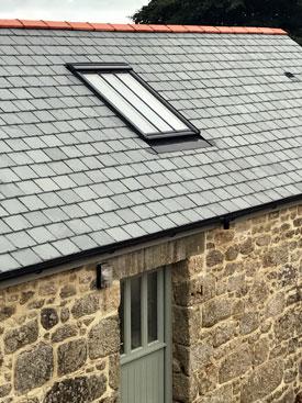 Velux roof light
