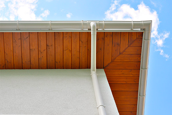 upvc roof guttering
